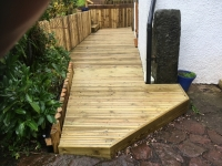 Grip decking and wall cladding in Narberth