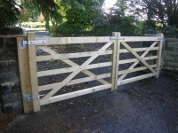 Bespoke 5 bar Gates in Redberth