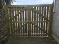 Pair of Picket gates in Pembroke