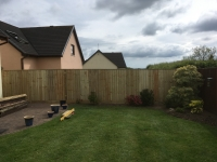 Feather Edge Fencing in Pentlepoir