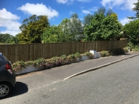 Feather Edge Fencing in Summerhill
