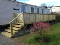 Narrow Caravan Decking