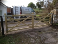 Pair of Field gates in Lydstep