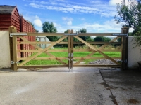 Pair of 5 bar gates in Carmarthen
