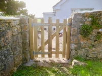 Picket Gate in Lydstep