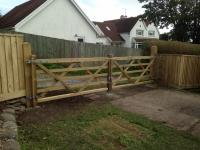 Pair of field gates in Lystep