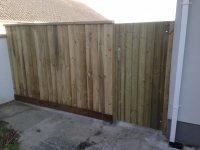 Feather Edge Fence and Gate in Haverfordwest
