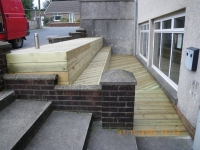 seated decking