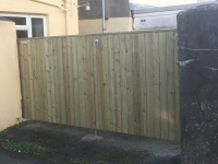 Solid Tongue and Groove Gates in Pembroke