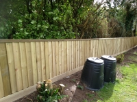 Feather Edge Fencing in Sardis, Kilgetty