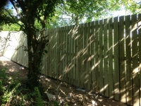 6ft Picket Fence with hidden gate in Tenby