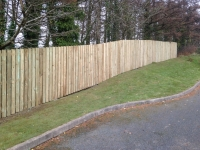 6' Picket Fence in Tenby