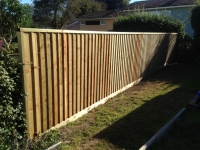 Feather Edge fencing in Tenby
