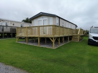 Caravan Decking in Tenby
