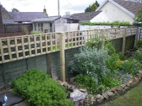 Bespoke heavy duty Trellis in Jeffreyston